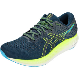 asics Evo Ride 2 Shoes Men, french blue/hazard green